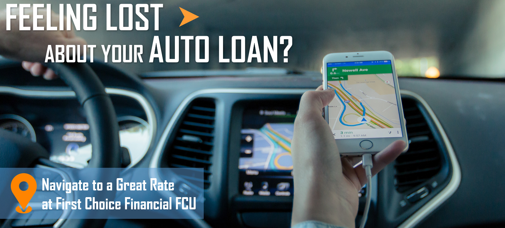 Car with GPS and auto loan rate